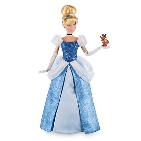 Cinderella Classic Doll with Gus Figure - 12'' ของแท้ นำเข้าจากอเมริกา