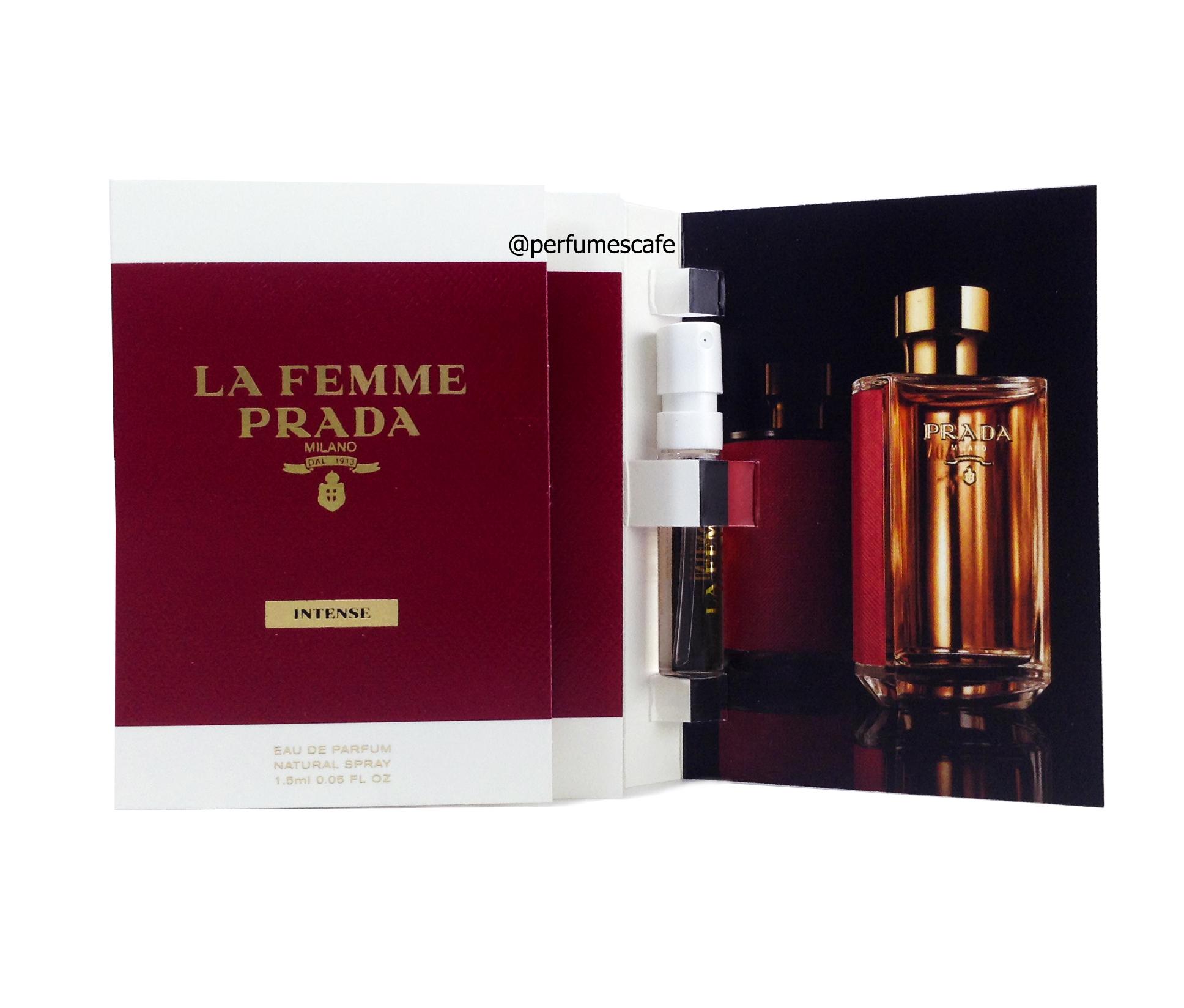 น้ำหอม Prada La Femme Eau de Parfum Intense ขนาดทดลอง 1.5ml