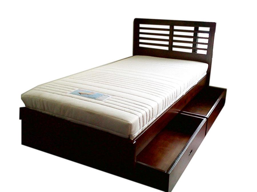 เตียงเดี่ยว 2 ลิ้นชัก