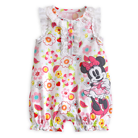 z minnie mouse knit romper for baby Size 18-24 month