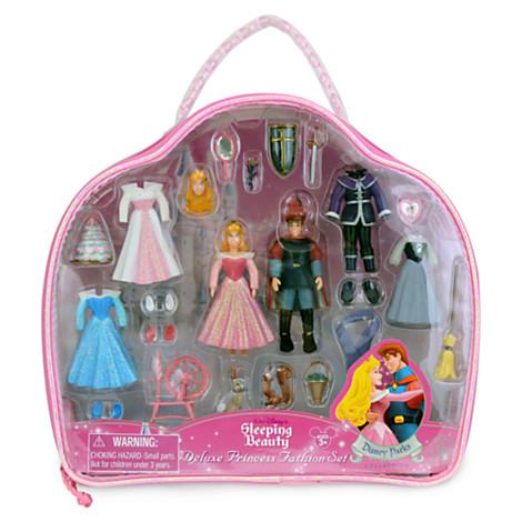 Z Sleeping Beauty Figurine Deluxe Fashion Play Set