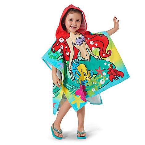 Ariel Hooded Towel for Kids from Disney USA ของแท้100% นำเข้า จากอเมริกา