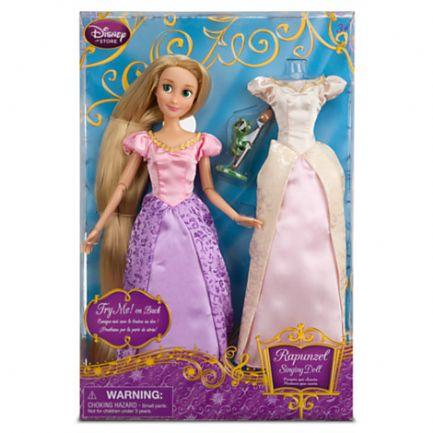 z Singing Doll and Costume Set - Rapunzel - 11 1/2''