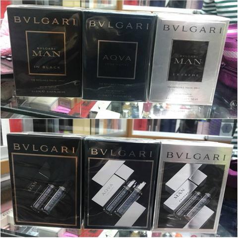 น้ำหอม Mini Set Bvlgari Pour Homme 15ml × 3