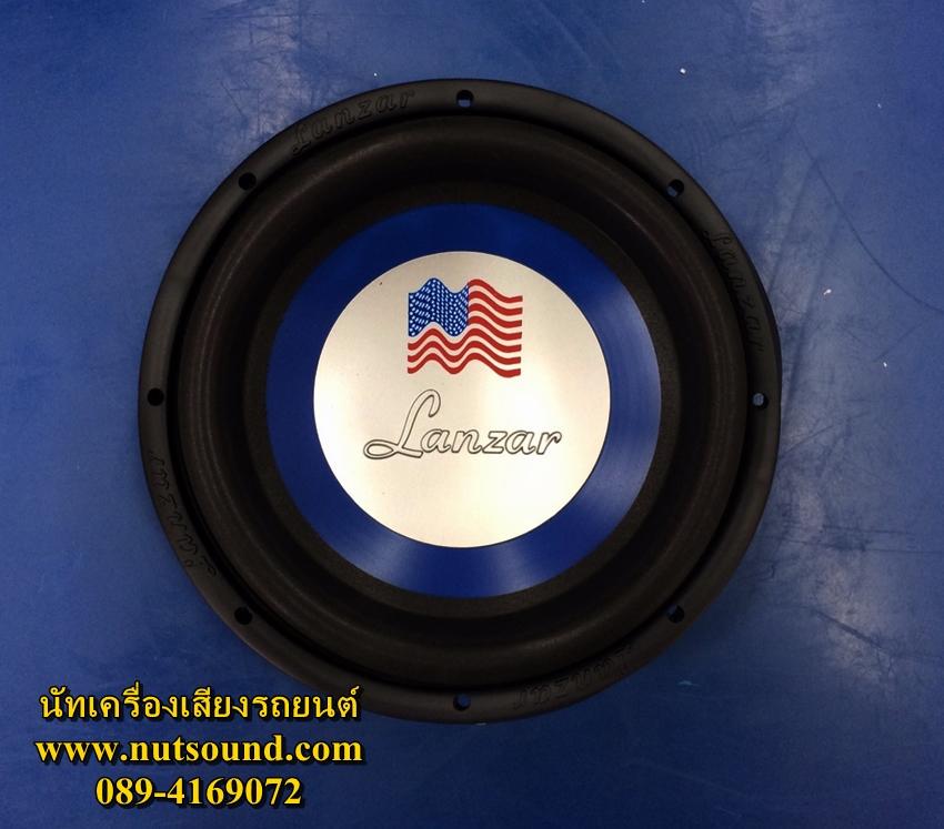 ลำโพงรถยนต์ ซับวูฟเฟอร์ 10 นิ้ว ยี้ห้อ LANZAR 1000W ว้อยคู่ แม่เหล็ก 1 ชั้น (จำนวน 2 ดอก)