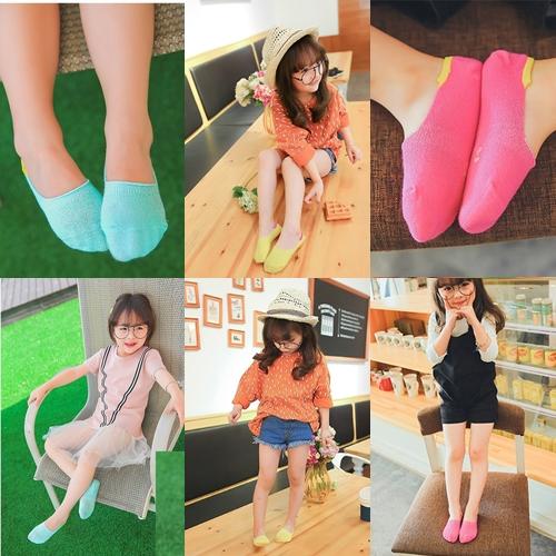 ถุงเท้าแบบสั้นคลุมเฉพาะเท้า ไซส์ 7-10 แพ็ค 3 คู่