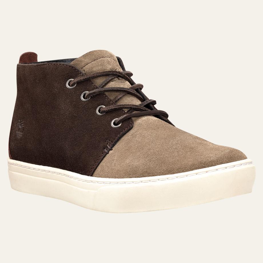ลด ล้างสต๊อก รองเท้า MEN'S ADVENTURE CUPSOLE CHUKKA SHOES TAUPE SUEDE Style A166E236 Shoe Size 41 - 45 พร้อมกล่อง