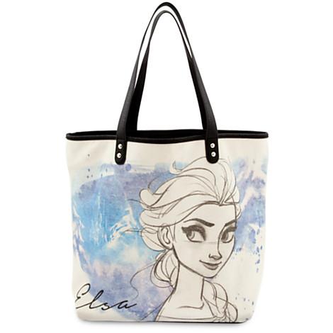 z Elsa Tote by Loungefly from Disney USA แท้100% นำเข้าจากอเมริกา - กระเป๋าสะพาย