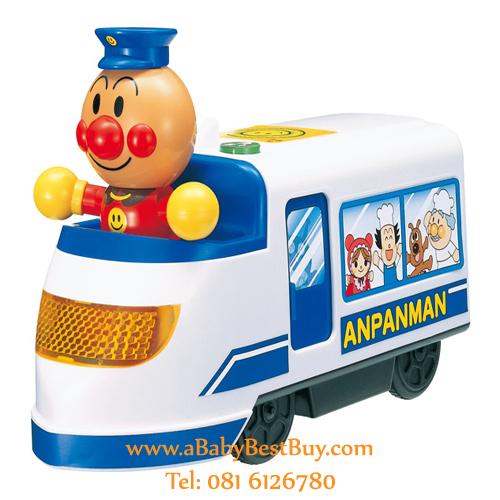 ZB004 รถตำรวจอันปังแมน มีเสียง มีไฟ Anpanman from Japan พร้อมส่ง