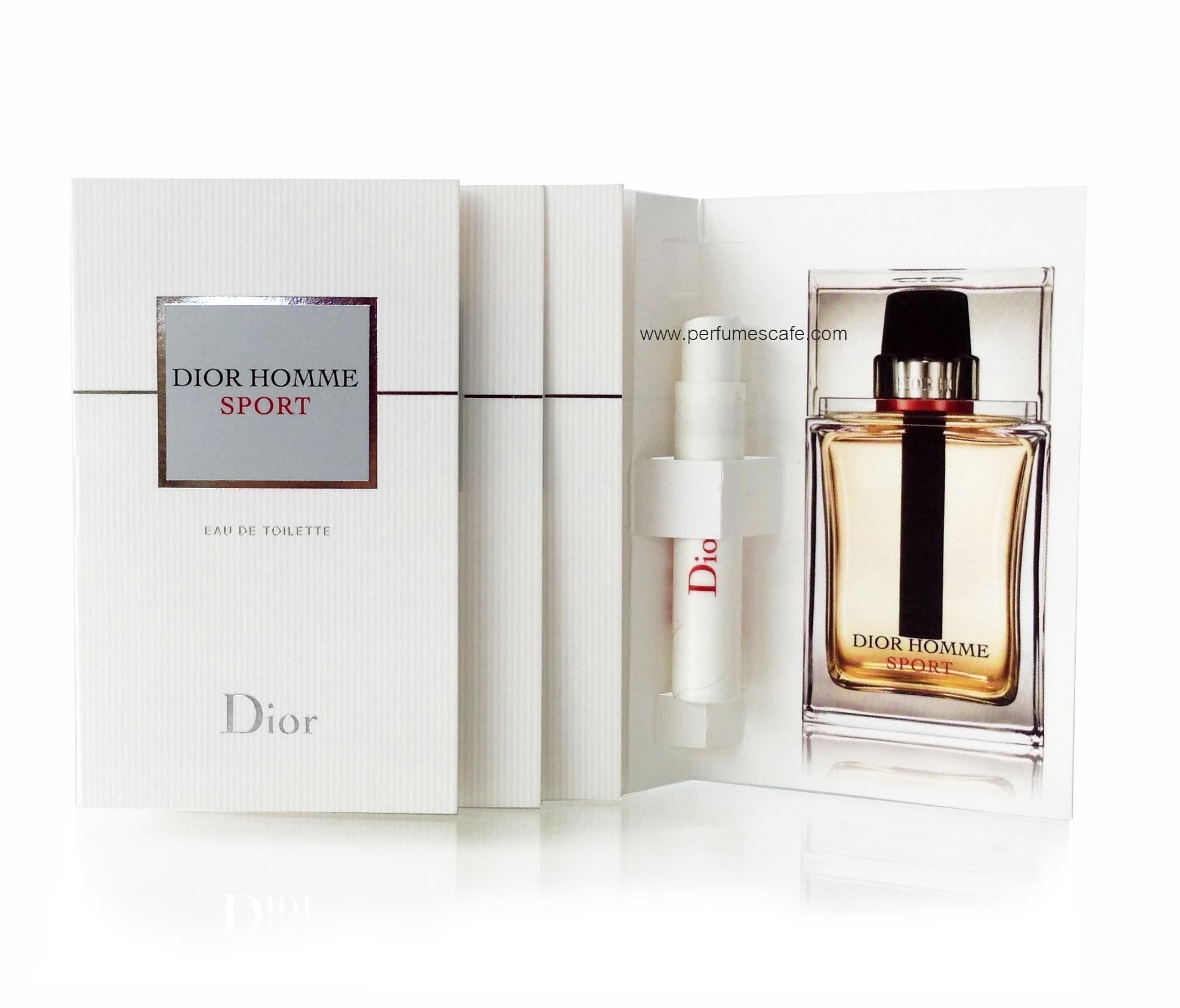 น้ำหอม Dior Homme Sport Eau de Toilette ขนาดทดลอง 1ml