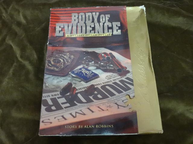 จิ๊กซอว์ 1000 ชิ้น Boby of Evidence