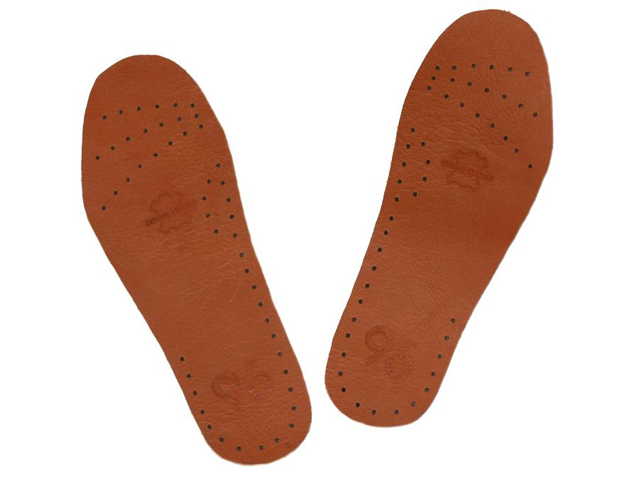 พื้นรองเท้าหนังแท้ หนังออย สามารถใช้ได้กับรองเท้าทุกรุ่นทุกยี่ห้อ ระบายอากาศได้ดี ไม่อับชื้น