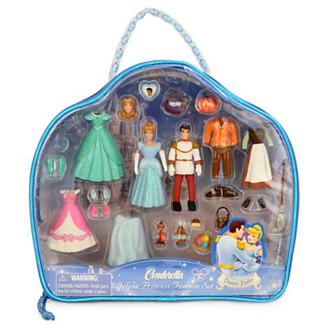 Z Cinderella Figurine Deluxe Fashion Play Set