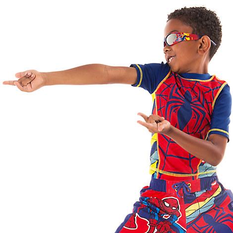 Spider-Man Rash Guard for Boys from Disney USA ของแท้100% นำเข้า จากอเมริกา