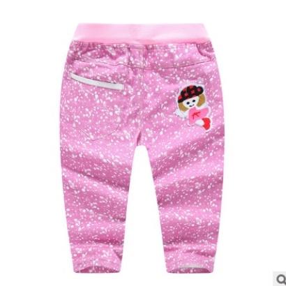 กางเกงเด็ก กางเกงขายาวเด็ก เอวยืด กางเกงยีนส์เด็ก ขนาด 2 - 6 ขวบ
