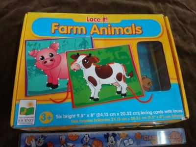 เกมร้อยเชือก farm animats