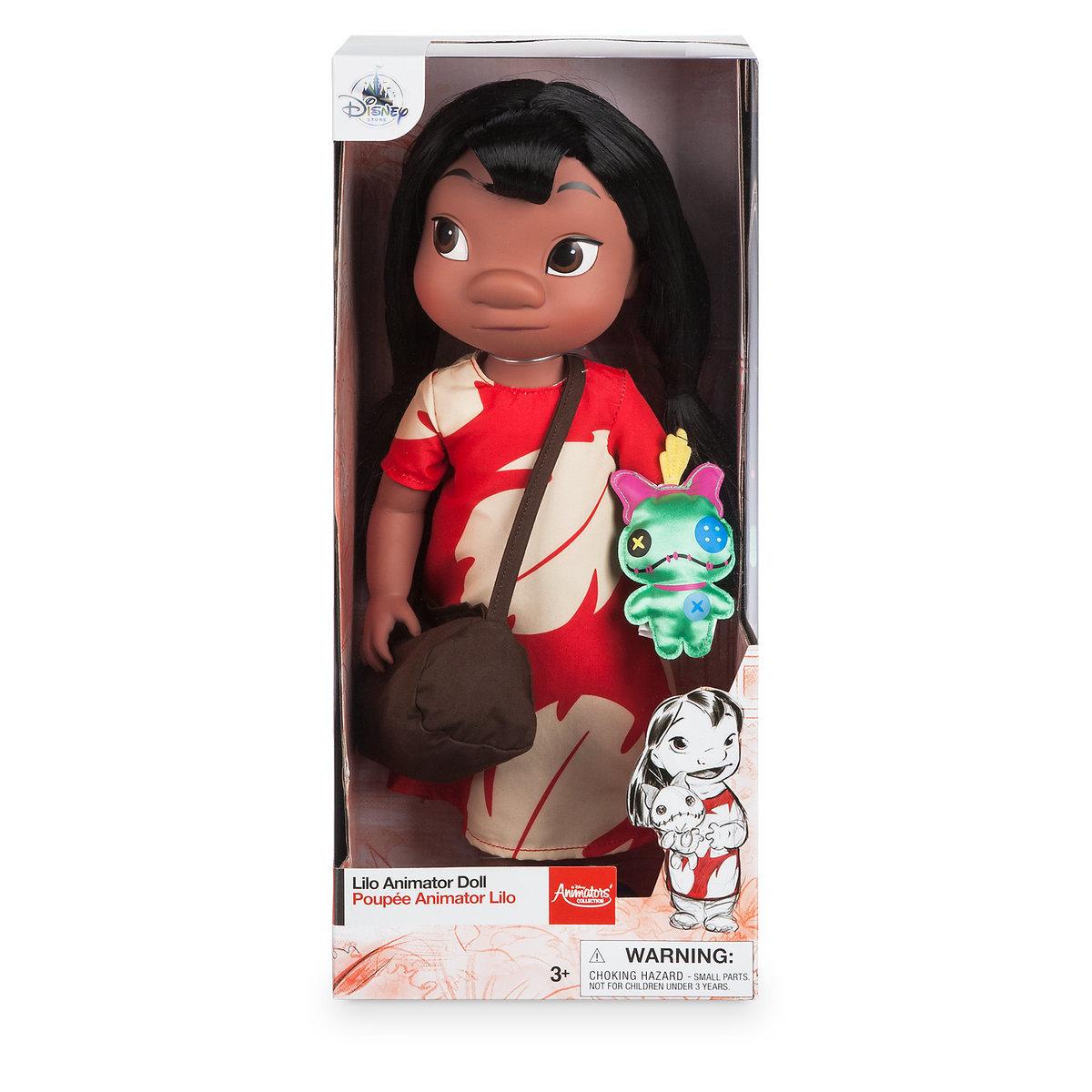 Disney Animators' Collection Lilo Doll - 16'' ของแท้ นำเข้าจากอเมริกา