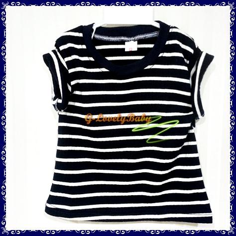 เสื้อผ้าเด็ก เสื้อผ้าเด็กชาย เสื้อ T-Shirt คอกลมแขนสั้น ผ้าคอตตอน ไซต์ 4 อายุ 2-3 ขวบ