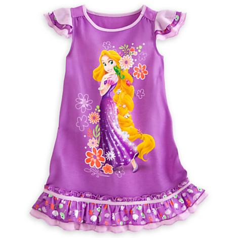 Disney Rapunzel Nightshirt for Girls Size2