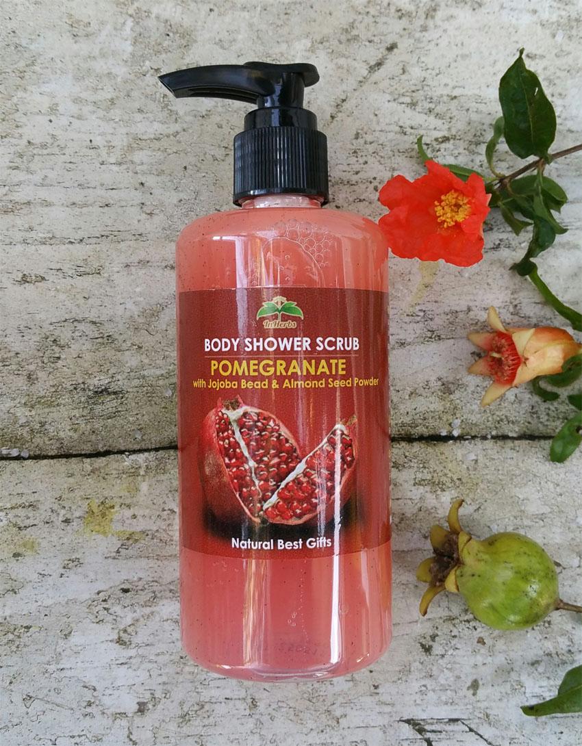 """THAI POMEGRANATE"" Body Shower Scrub / เจลอาบน้ำ สูตรทับทึม"