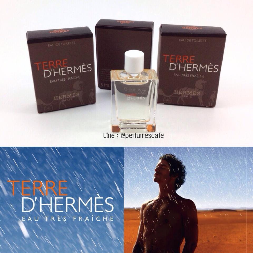 Hermes Terre d'Hermes Eau Tres Fraiche ขนาด 5 ml. / แต้ม