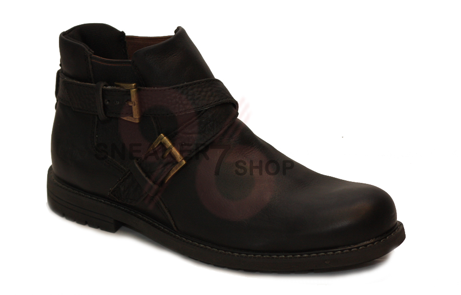 รองเท้า Caterpillar Mens Lace Up Leather Ankle Boots Size 40-44