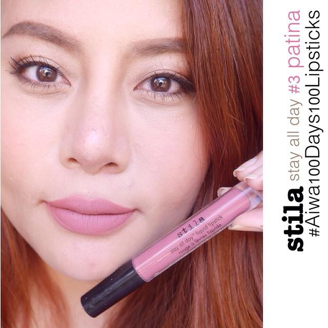***พร้อมส่งค่ะ** Stila Stay All Day Liquid Lipstick สี Patina 3ml.