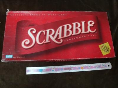 Scrabble cross word game