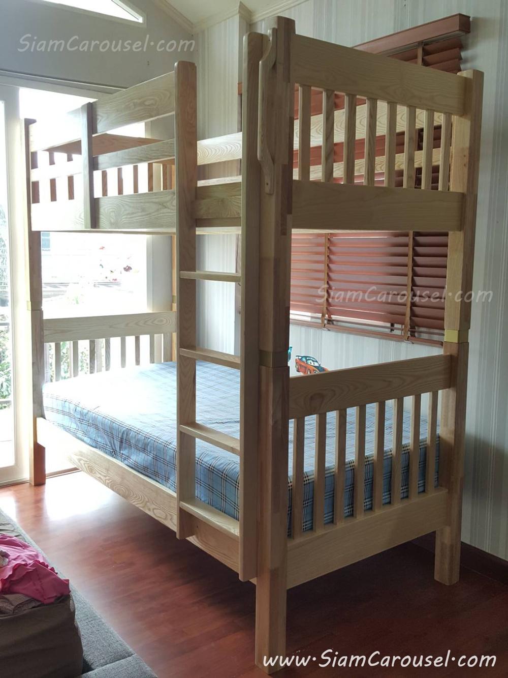 เตียง 2 ชั้น ของคุณ วราภรณ์ ม.ศุภาลัย การ์เด้นวิลล์ บางกรวย นนทบุรี