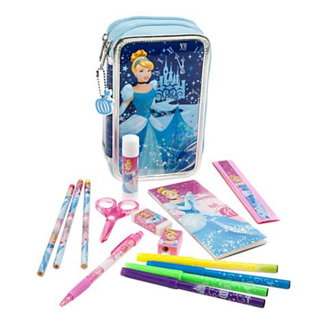 Z Cinderella Zip-Up Stationery Kit