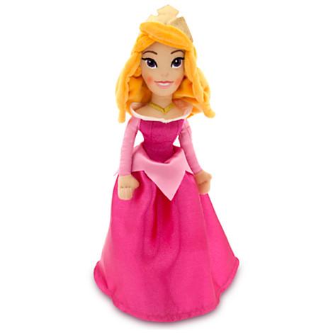 Z Aurora Plush Doll - Mini Bean Bag - 12'' - Sleeping Beauty
