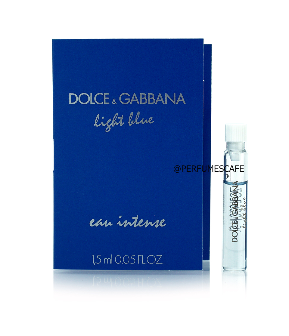 น้ำหอม Dolce & Gabbana Light Blue Eau Intense for her ขนาดทดลอง 1.5ml