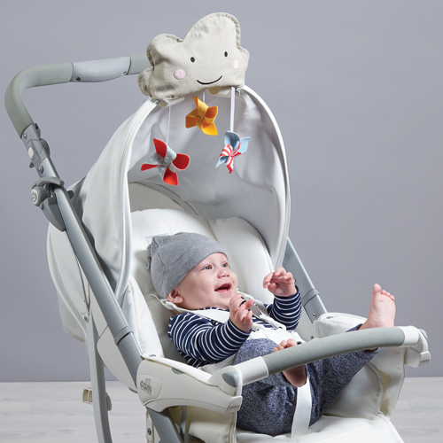 Taf Toys cloud Stroller shade ม่านบังแดด มุ้ง สำหรับติดรถเข็นทุกรุ่น playful sun shade