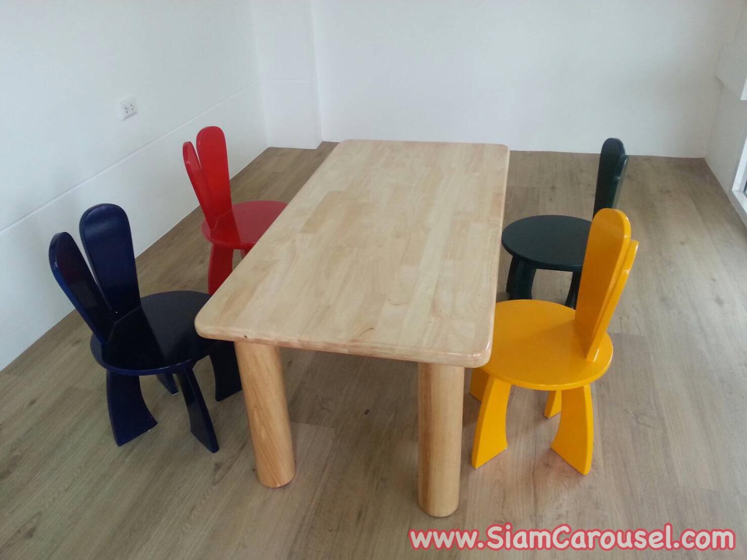 ชุดโต๊ะกิจกรรม ของคุณติ๊ก หมู่บ้านพฤกษ์ภิรมย์ ถ.ราชพฤกษ์