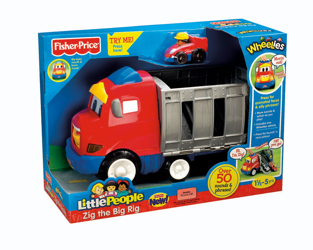 z Fisher Price Little People Zig the Big Rig.