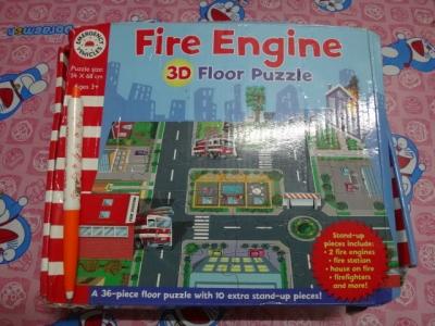 จิ๊กซอว์ fire Engine3d floor puzzle