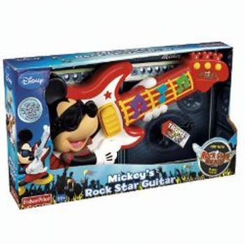 zFisher Price Mickey's Rook Star Guitar
