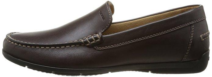 รองเท้าหนัง Geox SIMON Mocasines Brown Men's ไซต์ 40-44 พร้อมกล่อง