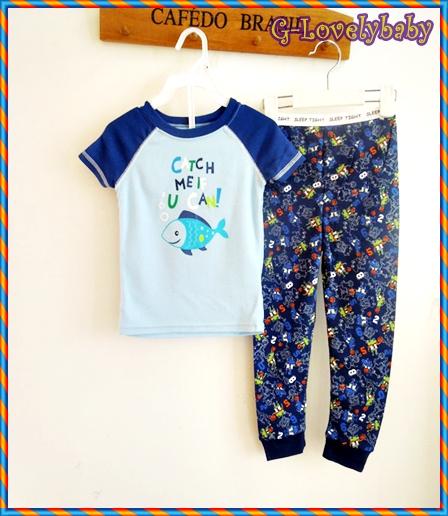 ชุดนอนเด็ก หญิง ชาย ชุดนอนเด็ก แบรนด์เนม Faded Glory ชุดนอนเด็กเล็ก Baby Pajamas Size 12M ,3T , 4T