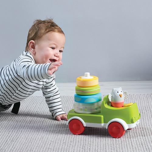 Taf Toys stacker Car Truck Kooky Stacker สำหรับน้อง 9 เดือนขึ้นไป