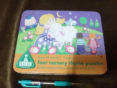 จิ๊กซอว์ไม้ four nursery rhyme puzzles