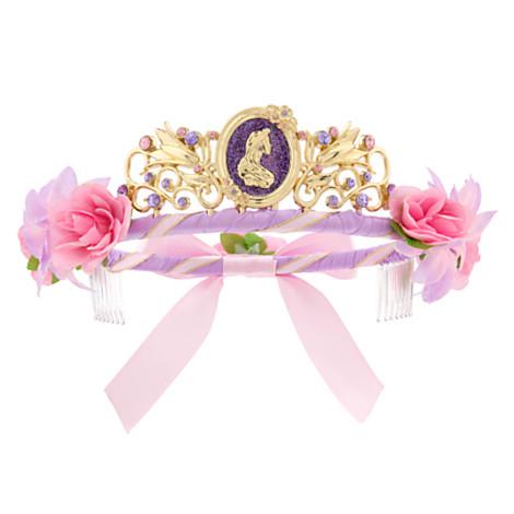 z Rapunzel Tiara for Girls