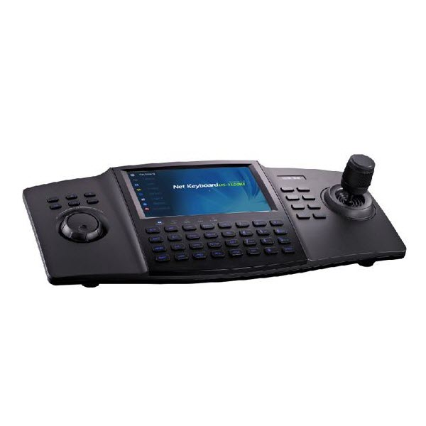 "Hikvision DS-1100KI Network Keyboard, 7"" TFT touch screen"