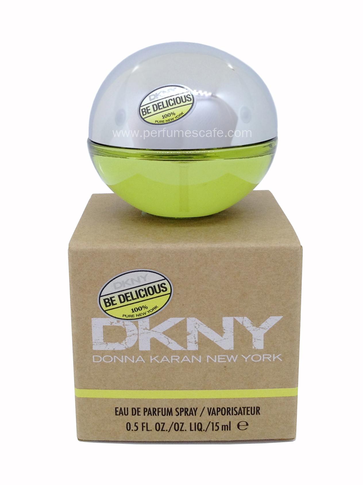 น้ำหอม DKNY Be Delicious Eau de Parfum ขนาดพกพา 15ml. แบบสเปรย์