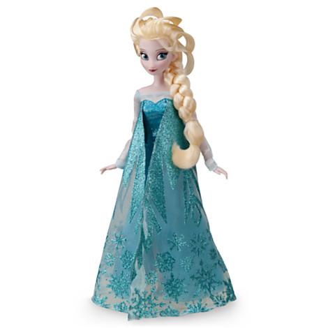 z Frozen - Elsa Classic Doll - 12'' ตุ๊กตาเจ้าหญิงเอลซ่า คลาสสิก ขนาด12นิ้ว (พร้อมส่ง)