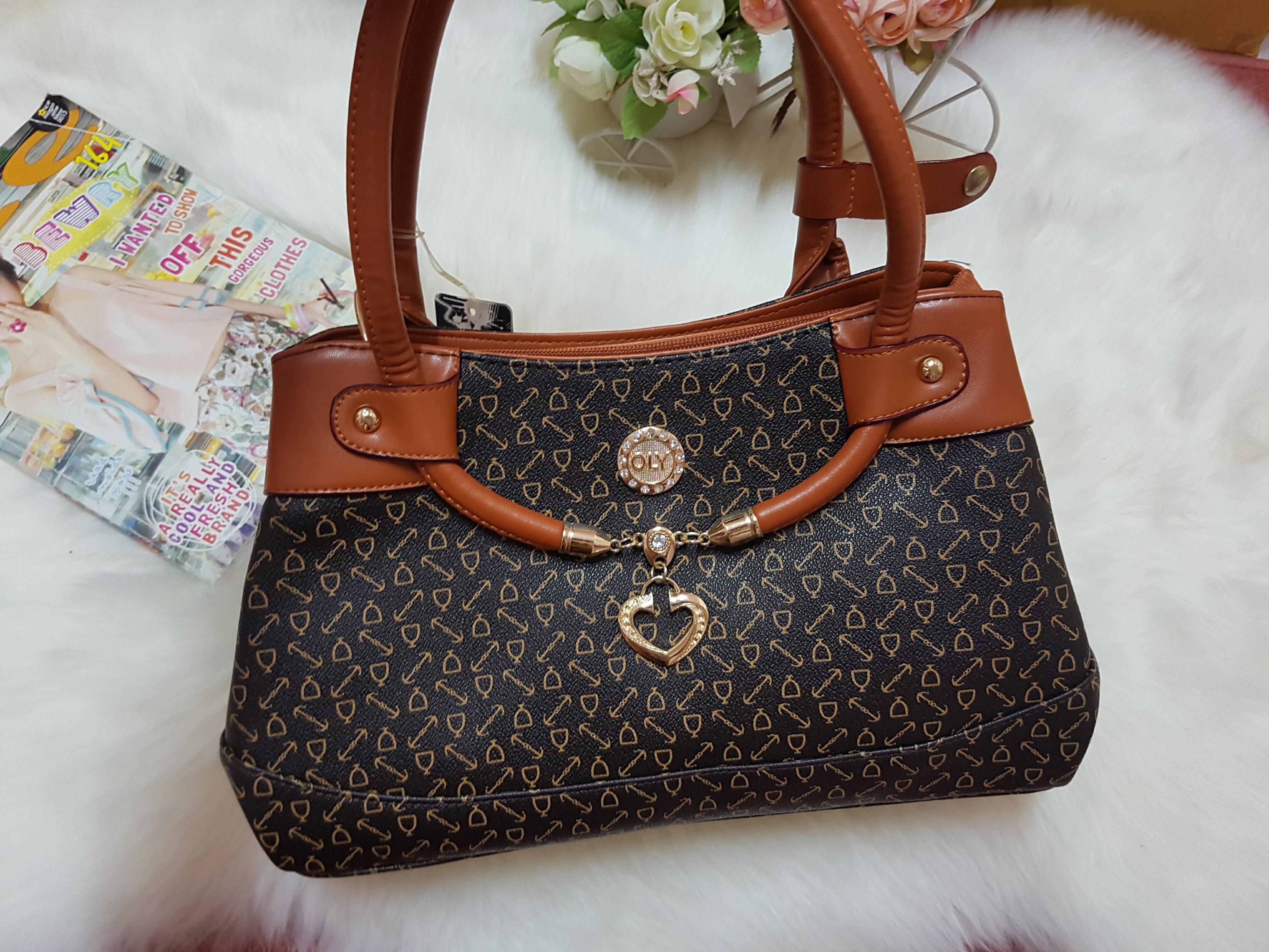 กระเป๋าแฟชั่นสตรี หนังPU เกรด A (แบรนด์แท้ฮ่องกง)