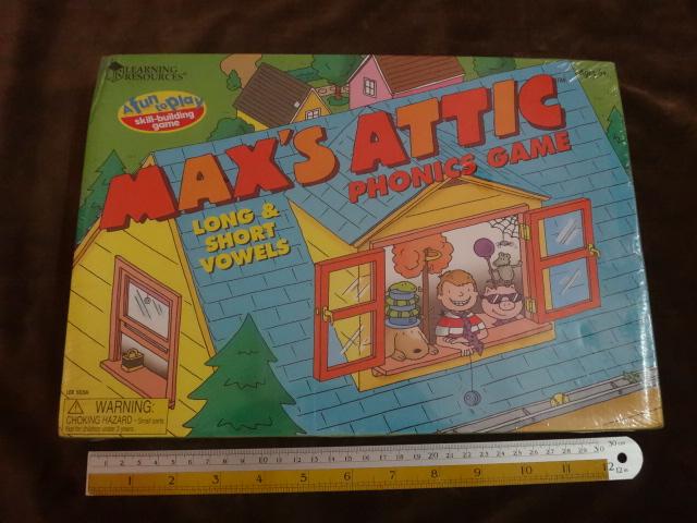 max'attic phonics game