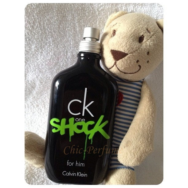 น้ำหอม CK One Shock for Him EDT 100 ml. (มีกล่อง)