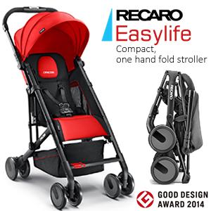 รถเข็นเด็ก RECARO รุ่น Easylife สำหรับเด็ก 6 เดือน - 3 ปี (6 months - approx.15 kg)