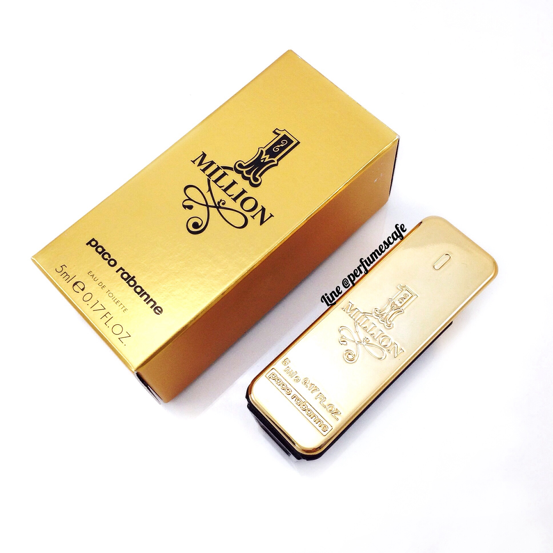 Paco Rabanne 1 Million Eau de Toilette 5ml. แบบแต้ม